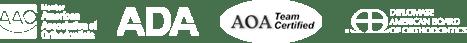 AOA Team Certified Logo - Saratoga Invisalign